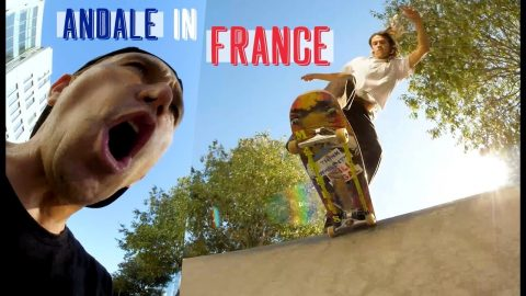 A Trip To France With Joey Brezinski And The Andalé Team | The Berrics