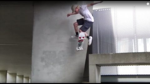 Aaron Goure ~ European Skate Vacation | Krux Trucks