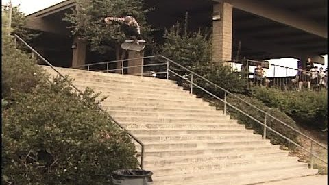 "Aaron ""Jaws"" Homoki Kickflip Melon El Toro 20 Stair 