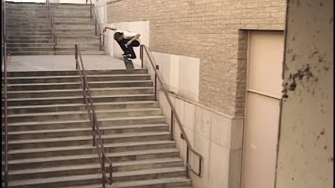 "Aaron ""Jaws"" Homoki X Games Reel Street Raw Footage 