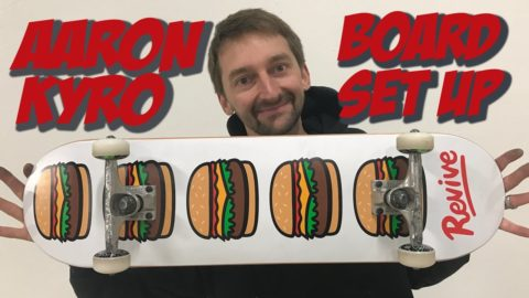 AARON KYRO BOARD SET UP AND INTERVIEW #2 - Nka Vids