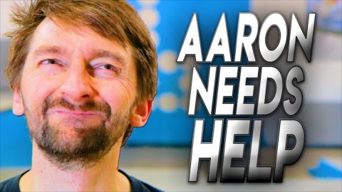 AARON KYRO NEEDS YOUR HELP! | Braille Skateboarding