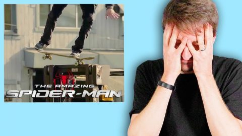 AARON KYRO REACTS TO SKATEBOARDING IN MOVIES! | Braille Skateboarding
