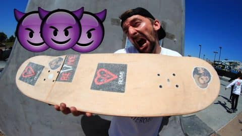 AARON KYRO'S NIGHTMARE BOARD - Braille Skateboarding