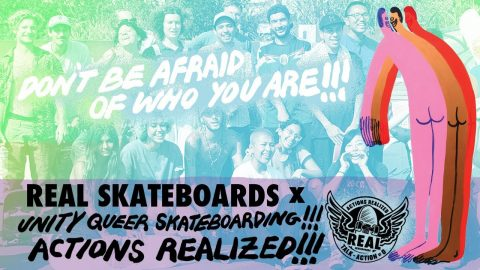 Actions REALized : Unity | REAL Skateboards