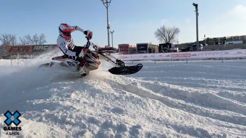Adaptive Snow BikeCross Preview with Mike Schultz | X Games Aspen 2020 | X Games