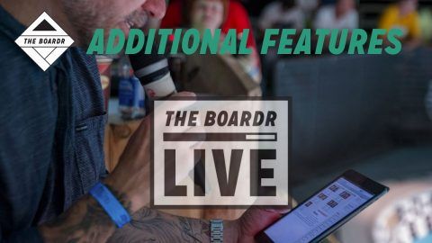 Additional Features: The Boardr Live Skateboarding and Action Sports Scoring System | TheBoardr