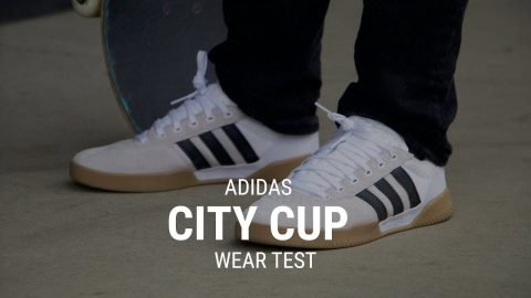 Adidas City Cup Skate Shoes Wear Test Review - Tactics.com - Tactics Boardshop