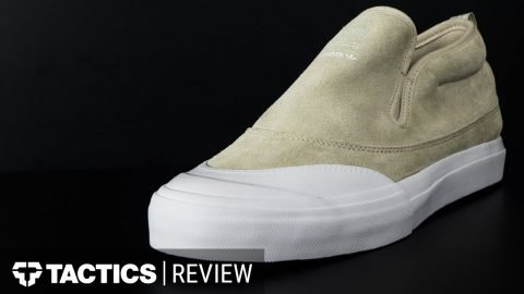Adidas MatchCourt Slip On Mid Skate Shoes Review - Tactics.com - Tactics Boardshop
