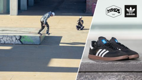 adidas Skateboarding Samba ADV Wear Test with Jost Arens - Titus