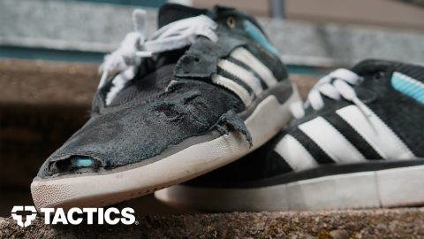 Adidas Tyshawn Pro Skate Shoes Wear Test Review - Tactics | Tactics Boardshop