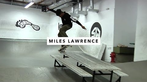 Afternoon In The Park: Miles Lawrence | TransWorld SKATEboarding