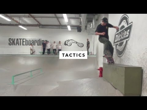 Afternoon in the Park: Tactics - TransWorld SKATEboarding