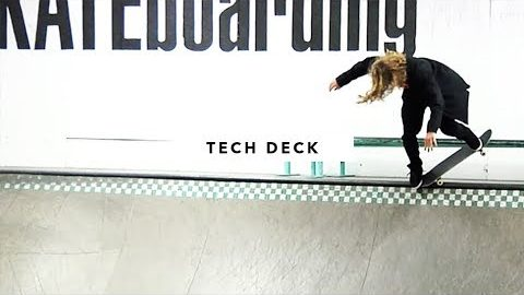 Afternoon in the Park: Tech Deck - TransWorld SKATEboarding