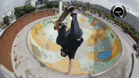 Against All Authority   Skateboarding in New Zealand   Afends   Skuff TV - Action & Extreme Sports Channel