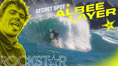 Albee Layer | Secret Surf in Maui | Rockstar Energy