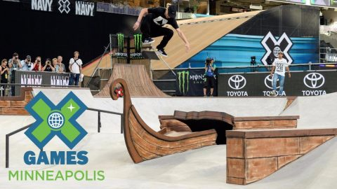 Alec Majerus wins Men's Skateboard Street silver | X Games Minneapolis 2017 - X Games
