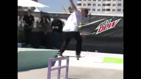 Alec Majerus | Zumiez Destroyer Award Highlights At Dew Tour 2017 - TransWorld SKATEboarding