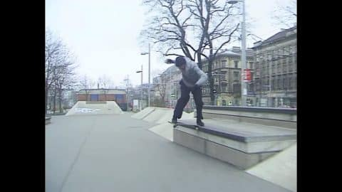 Alex Massotti at Gürtel Plaza - Bones Bearings