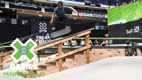 Alexis Sablone wins Women's Skateboard Street bronze | X Games Minneapolis 2018 | X Games