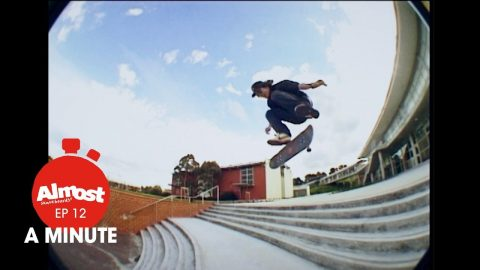 Almost A Minute EP 12 Lewis Marnell (Cheese & Cracker's Bonus part) - Almost Skateboards