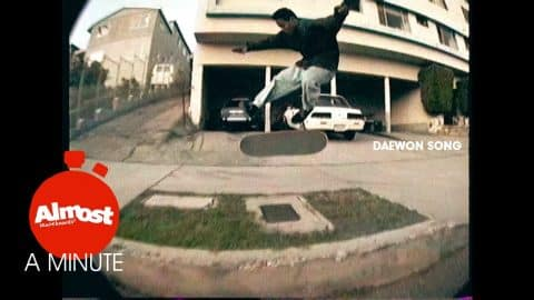 Almost A Minute EP 4 Daewon Song 90's Throw Back - Almost Skateboards