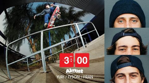 Almost Skateboards 3AM Yuri Facchini, Tyson Bowerbank, Fran Molina | FULL VIDEO | Almost Skateboards