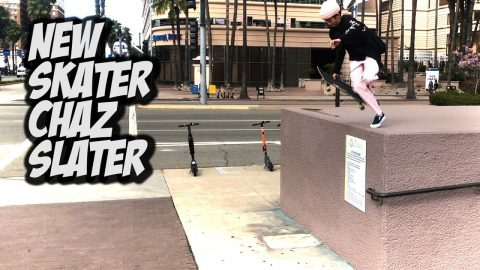 AMAZING NEW SKATER CHAZ SLATER AND MORE !!! - NKA VIDS - | Nka Vids Skateboarding