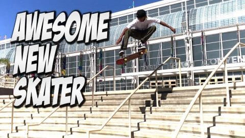 AMAZING NEW SKATER MALIQUE SIMPSON !!! - A DAY WITH NKA - - Nka Vids Skateboarding