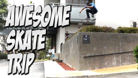 AMAZING SAN DIEGO SKATE TRIP Feat. VINNIE BANH & DYLAN JAEB - A DAY WITH NKA - - Nka Vids Skateboarding