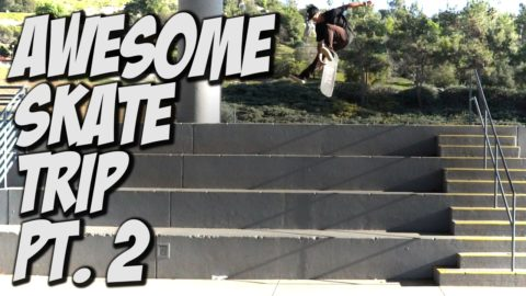 AMAZING SKATE TRIP TO SAN DIEGO Pt. 2 Feat. VINNIE BANH & TRAE MONTGOMERY - A DAY WITH NKA - - Nka Vids Skateboarding
