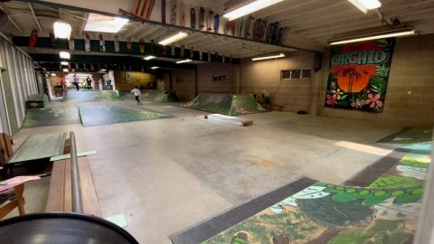 AMAZING SKATEPARK & CAMPGROUND THE ORCHID !!! - NKA VIDS - | Nka Vids Skateboarding