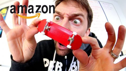 AMAZON FINGERBOARD SETUP! - Braille Skateboarding