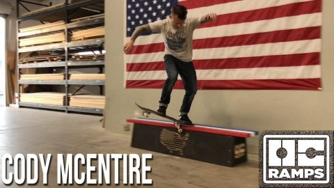 American Flag Butter Bench by Cody McEntire | OC Ramps