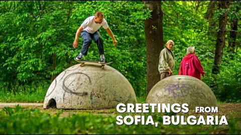 An Eastern European Skate Movement | GREETINGS FROM SOFIA, BULGARIA | Red Bull Skateboarding