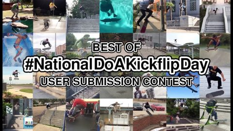 And The Winner Of Our 'National Do a Kickflip Day' Contest Is… | The Berrics