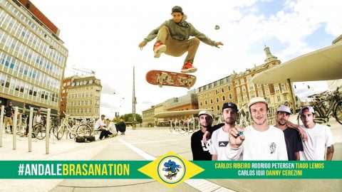 Andalé Bearings Brasil Crew #AndaleBrasaNation - Andale Bearings