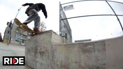 Anderson Stevie Skates Popular Los Angeles and Europe Spots. - RIDE Channel