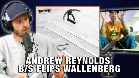 Andre Reynolds Got Broke Off Trying To Backside Flip Wallenberg | Nine Club Highlights