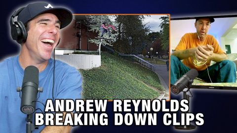 Andrew Reynolds Breaks Down Some Of His Memorable Clips!! | Nine Club Highlights