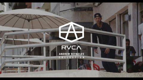 ANDREW REYNOLDS COLLECTION | RVCA SKATE | RVCA