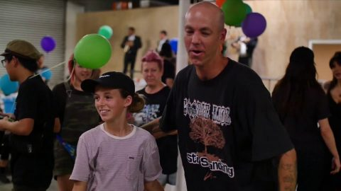 Andrew Reynolds surprise birthday party skate jam. | Desert Mamba