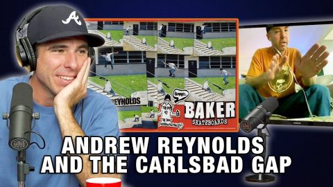 Andrew Reynolds Talks About His Tricks Down Carlsbad Gap | Nine Club Highlights