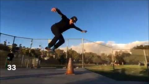Andrew Schoultz - 44 Clips For His 44th Birthday | Skatepark of Tampa