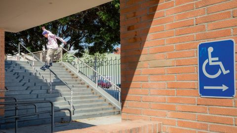 Andrew Verde 'Afternoon Hunger' part | Freeskatemag