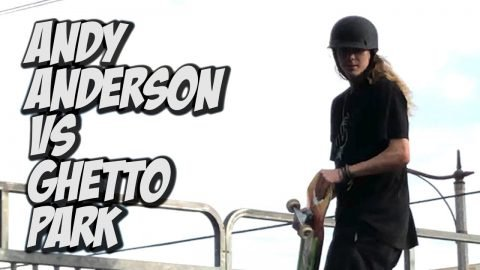 ANDY ANDERSON AND DONNY HIXSON KILL GHETTO PARK AND CHERRY !!! - NKA VIDS - | Nka Vids Skateboarding