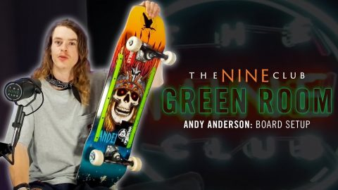 Andy Anderson Breaks Down His Board Setup! | Nine Club Highlights
