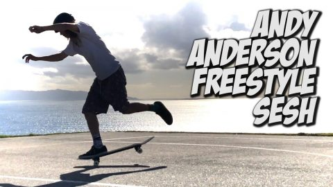 ANDY ANDERSON INSANE FREESTYLE SESH AND MUCH MORE !!! - NKA VIDS - - Nka Vids Skateboarding