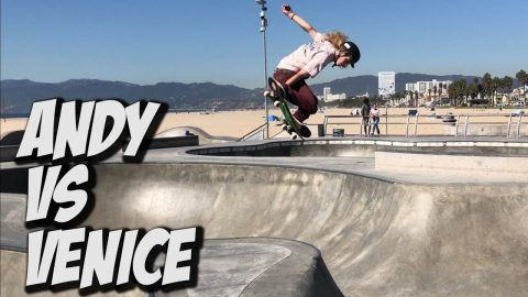 ANDY ANDERSON KILLS VENICE SKATEPARK AND MUCH MORE !!! - NKA VIDS - | Nka Vids Skateboarding