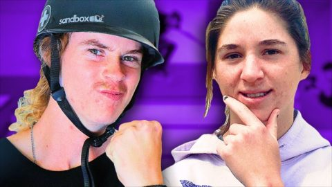 ANDY ANDERSON VS HALEY ISAAK | QUARANTINE GAME OF SKATE ROUND 2 | Braille Skateboarding
